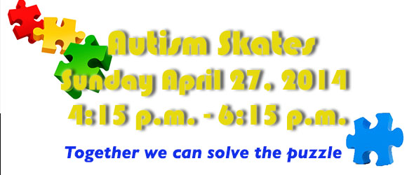 TIME CHANGE - AUTISM SKATES 2014